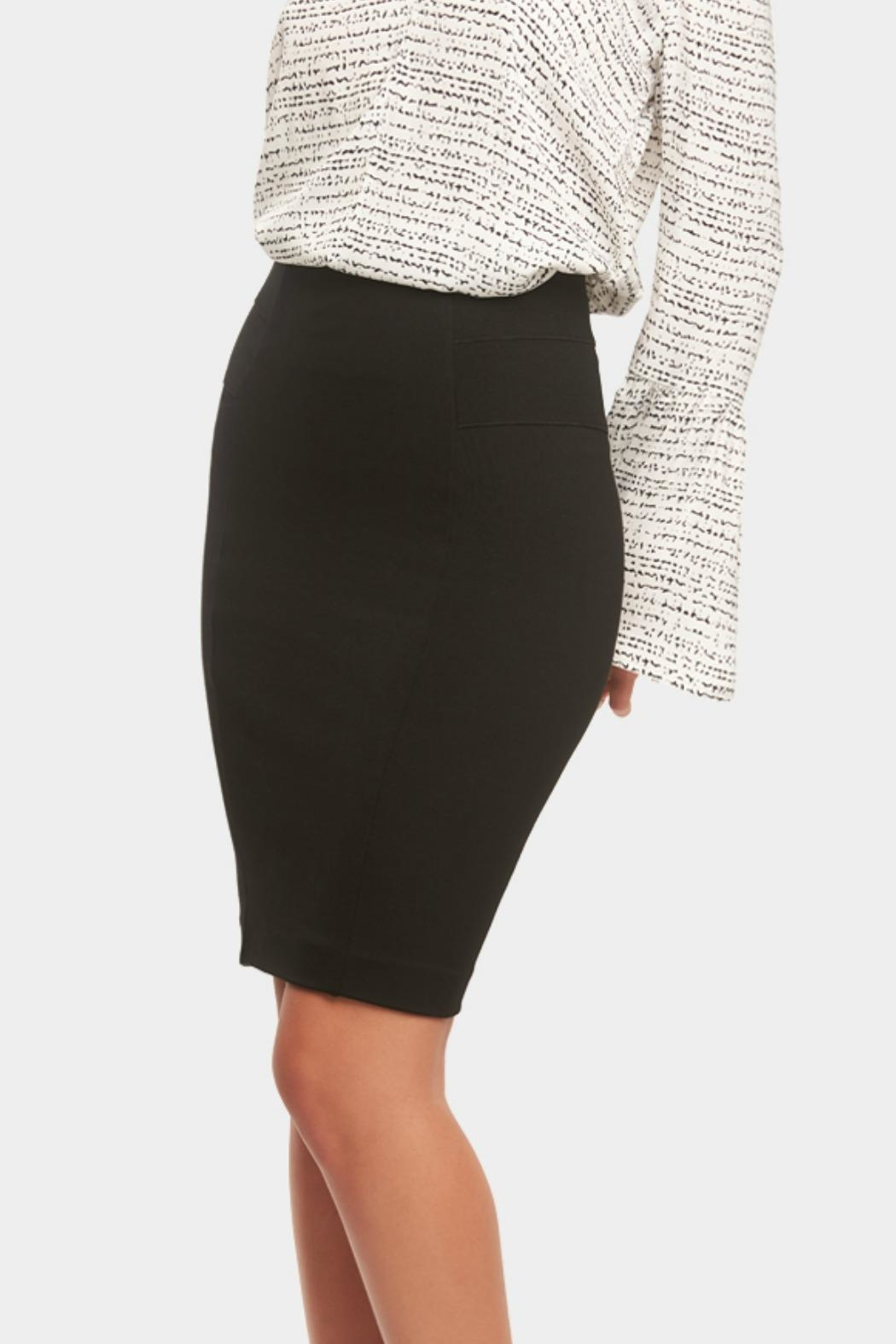 Tart Collections Autumn Ponte Skirt - Side Cropped Image
