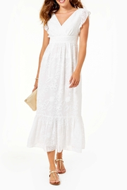 Lilly Pulitzer  Autumn Ruffle Midi Dress - Product Mini Image