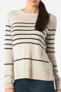 Autumn Cashmere Breton Stripe Sweatshirt - Product List Image