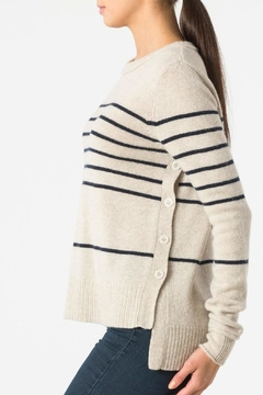 Autumn Cashmere Breton Stripe Sweatshirt - Alternate List Image