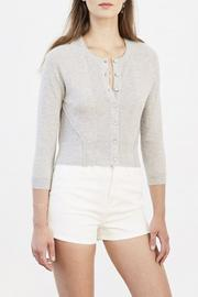 Autumn Cashmere Cashmere Cardigan Sweater - Product Mini Image