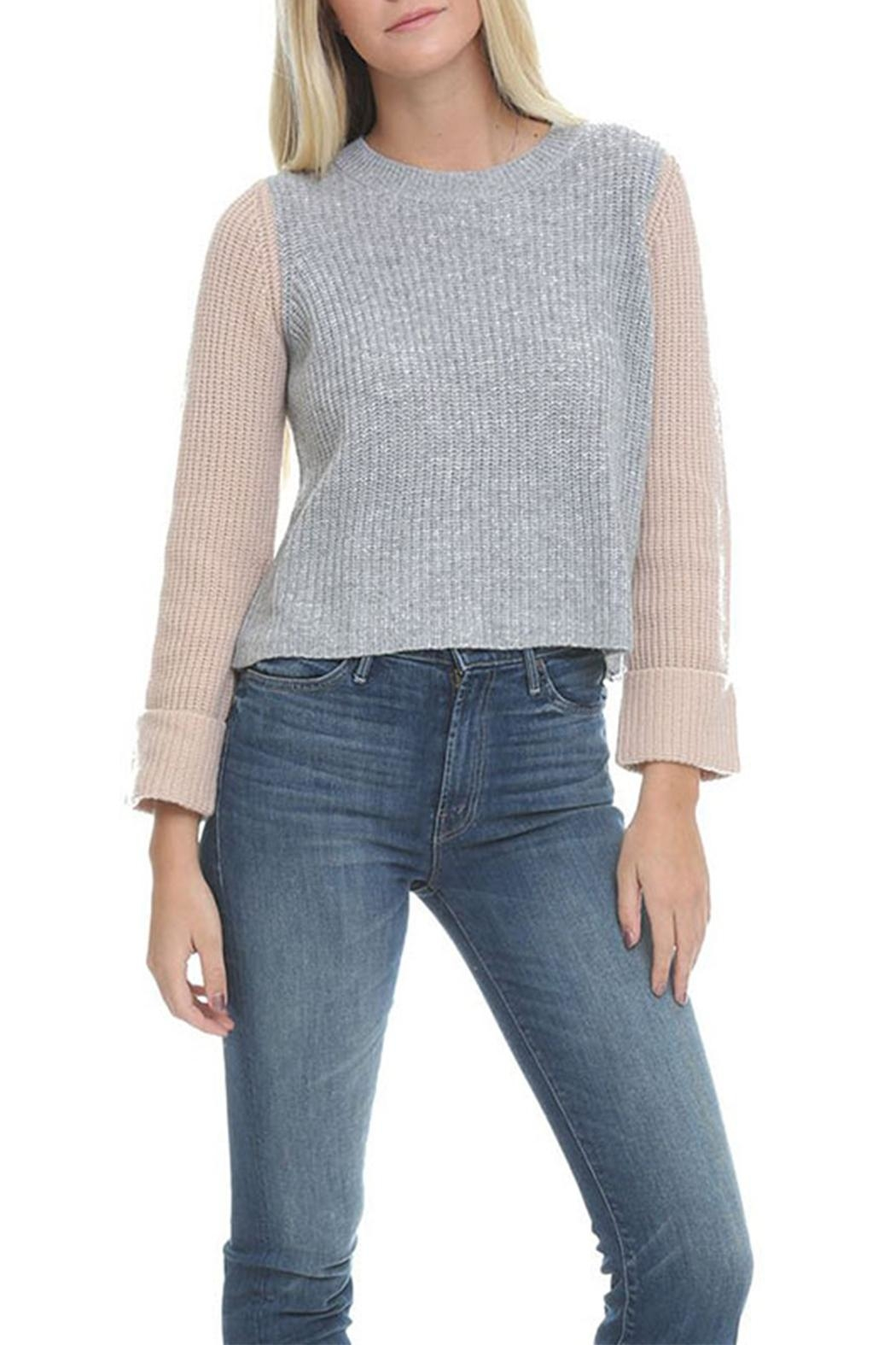 2e6dc011ca Autumn Cashmere Colorblock Cashmere Sweater from New York by Leelee ...