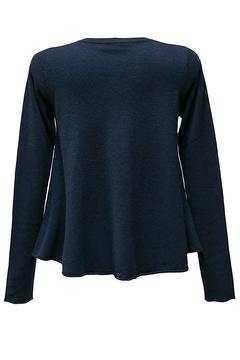 Autumn Cashmere Navy Flared Cashmere - Alternate List Image