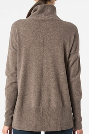 Autumn Cashmere Relaxed Mock Sweater - Side cropped