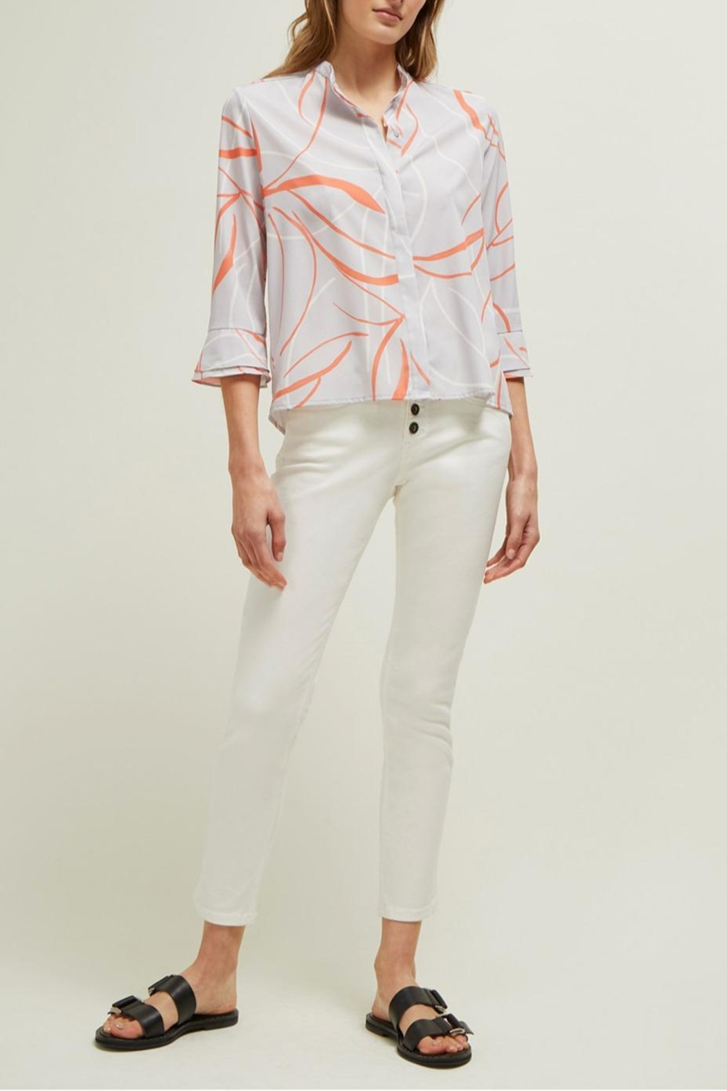 Great Plains Ava Abstract Blouse - Side Cropped Image
