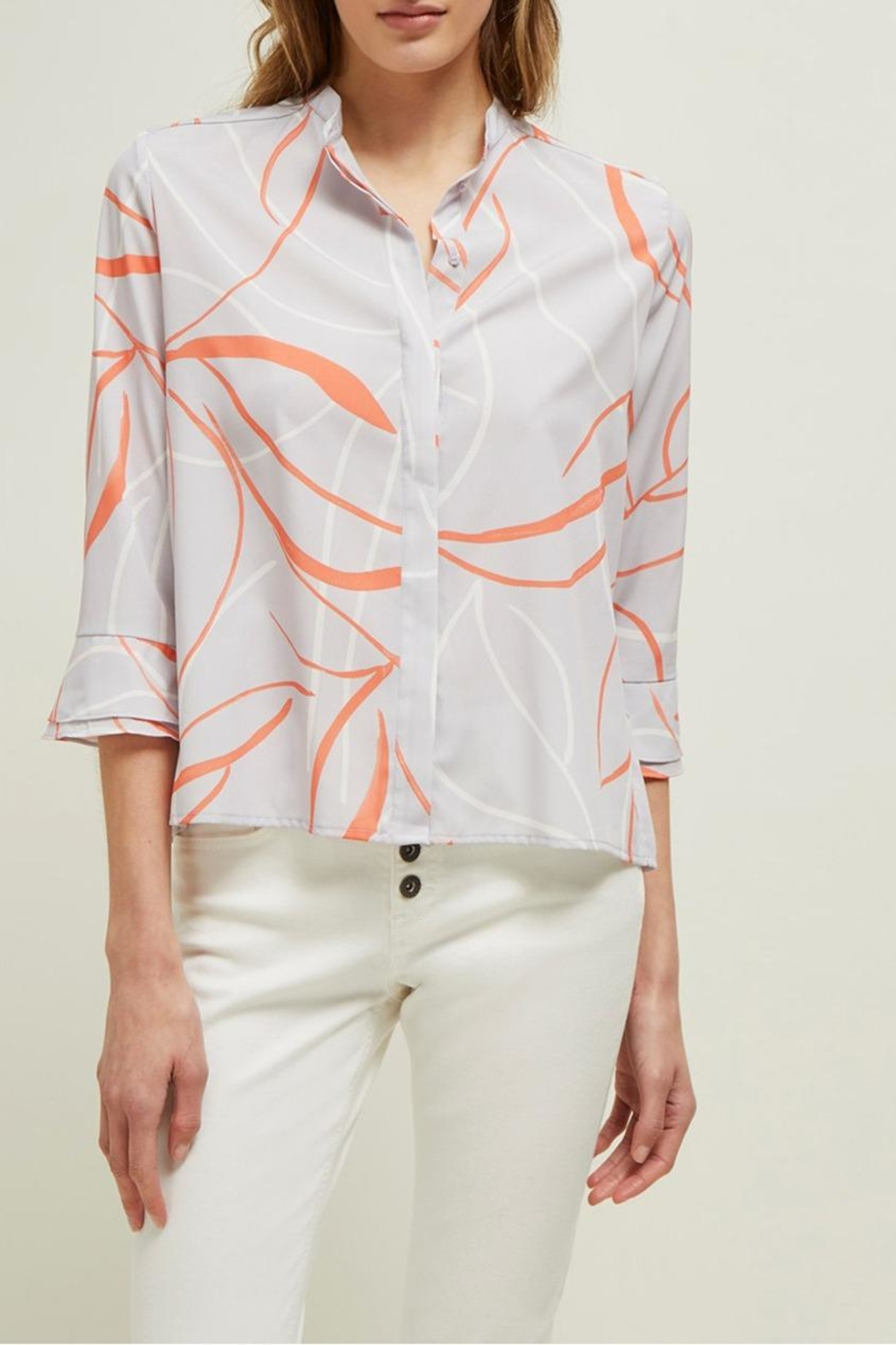 Great Plains Ava Abstract Blouse - Main Image