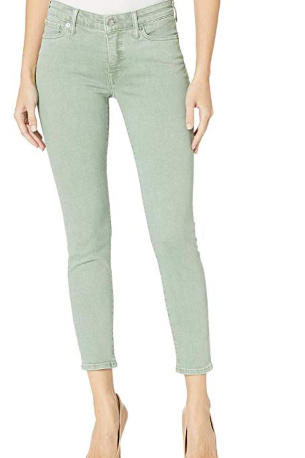 Lucky Brand Ava Crop Denim - Main Image