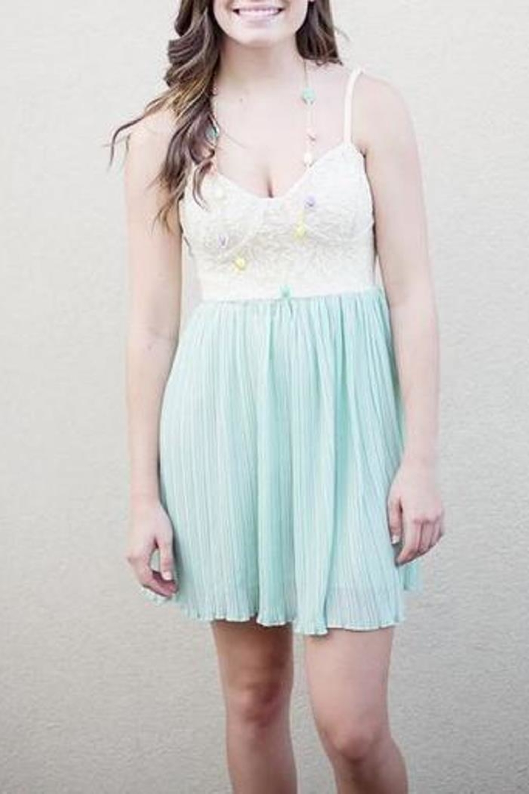 Lost Ava Dress - Side Cropped Image
