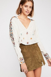 Free People Ava Embroidery Blouse - Product Mini Image