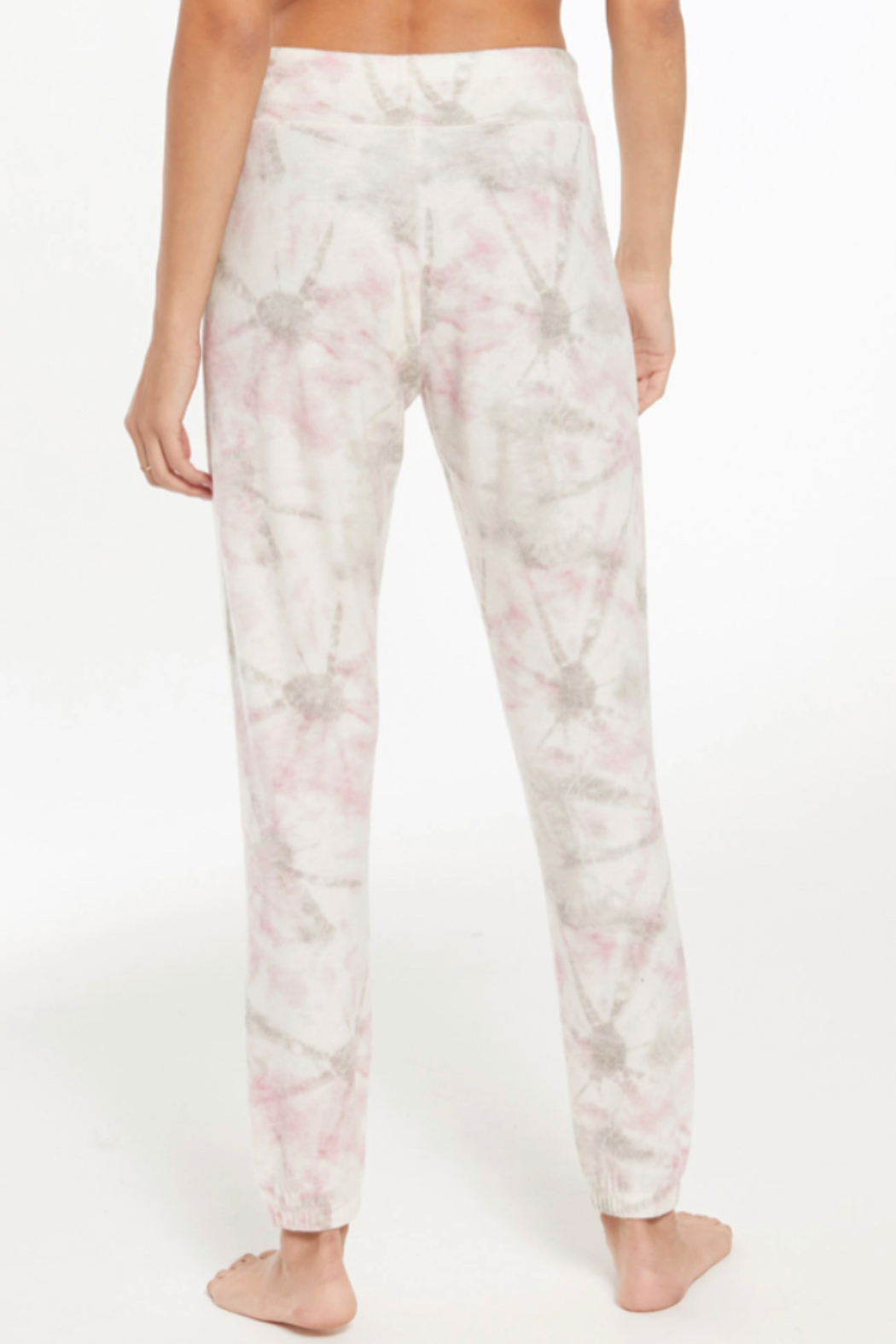 z supply Ava Faded Tie Dye Jogger - Side Cropped Image