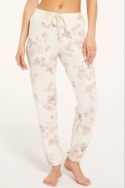 z supply Ava Floral Jogger - Front full body