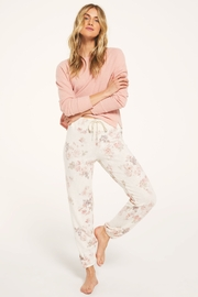 z supply Ava Floral Jogger - Front cropped