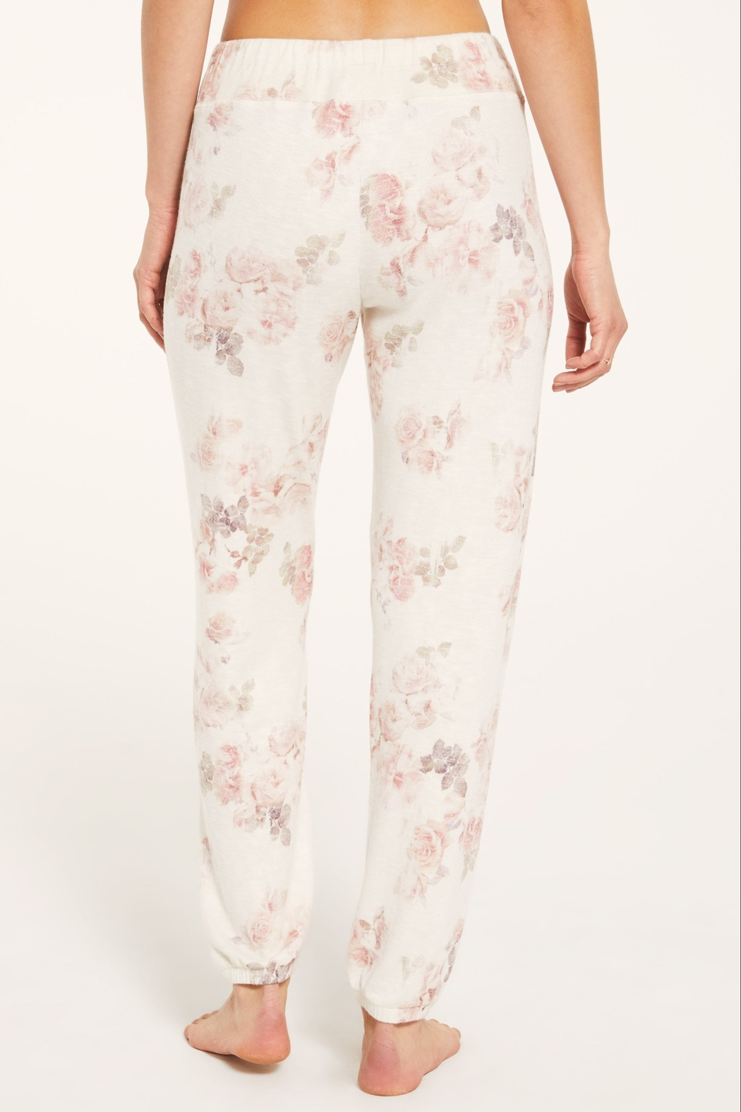 z supply Ava Floral Jogger - Side Cropped Image
