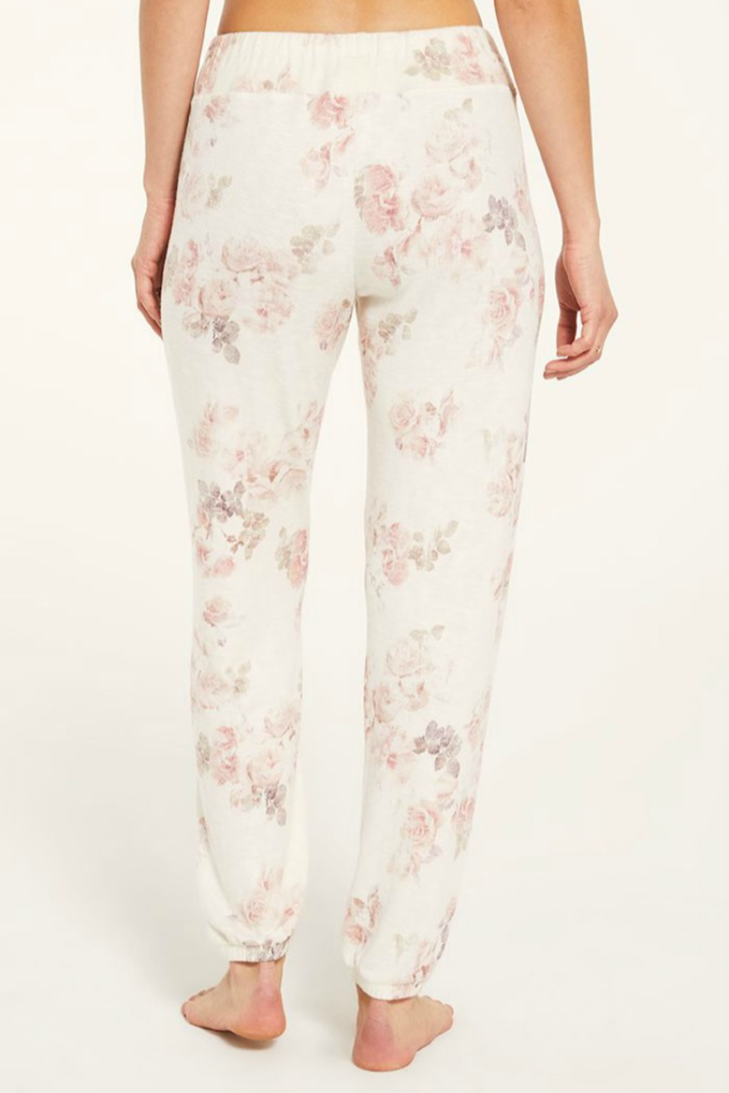 Zsupply Ava Floral Jogger - Side Cropped Image