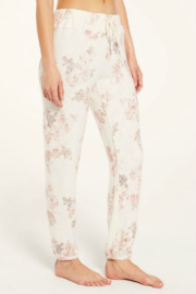 Zsupply Ava Floral Jogger - Front full body