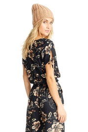 Saltwater Luxe Ava Floral Tie Top - Product Mini Image