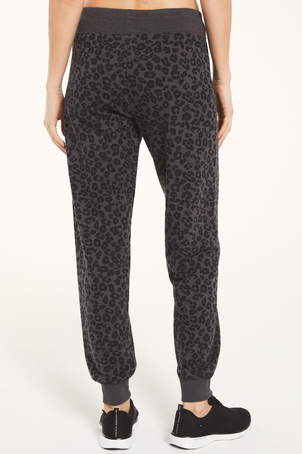 Z Supply  Ava Leo Jogger - Side Cropped Image