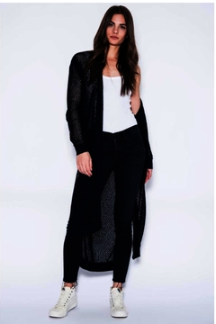 Shoptiques Product: Ava Navy Duster