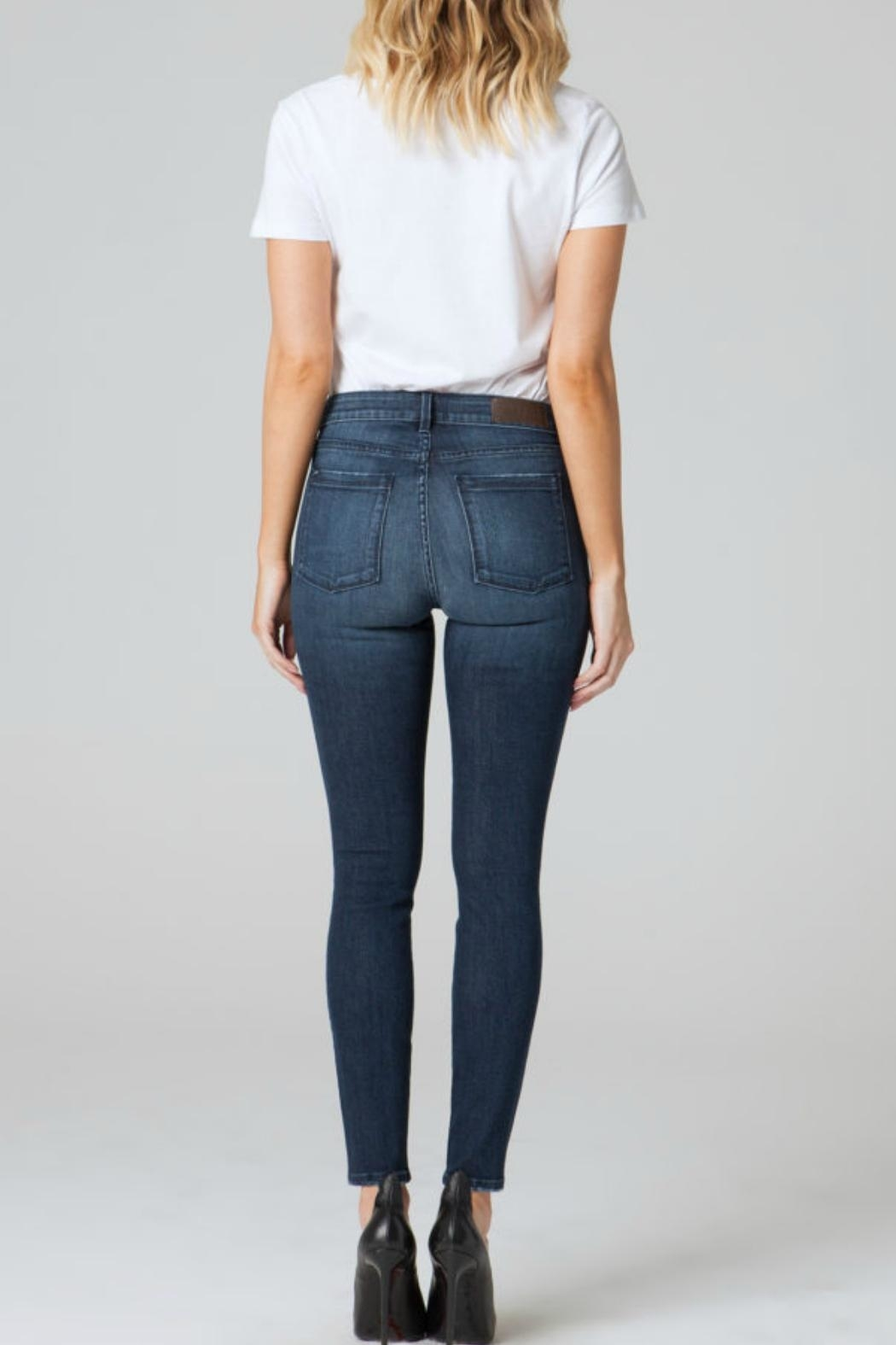 Parker Smith Ava Skinny Distressed Jean - Front Full Image