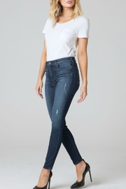 Parker Smith Ava Skinny Distressed Jean - Front cropped