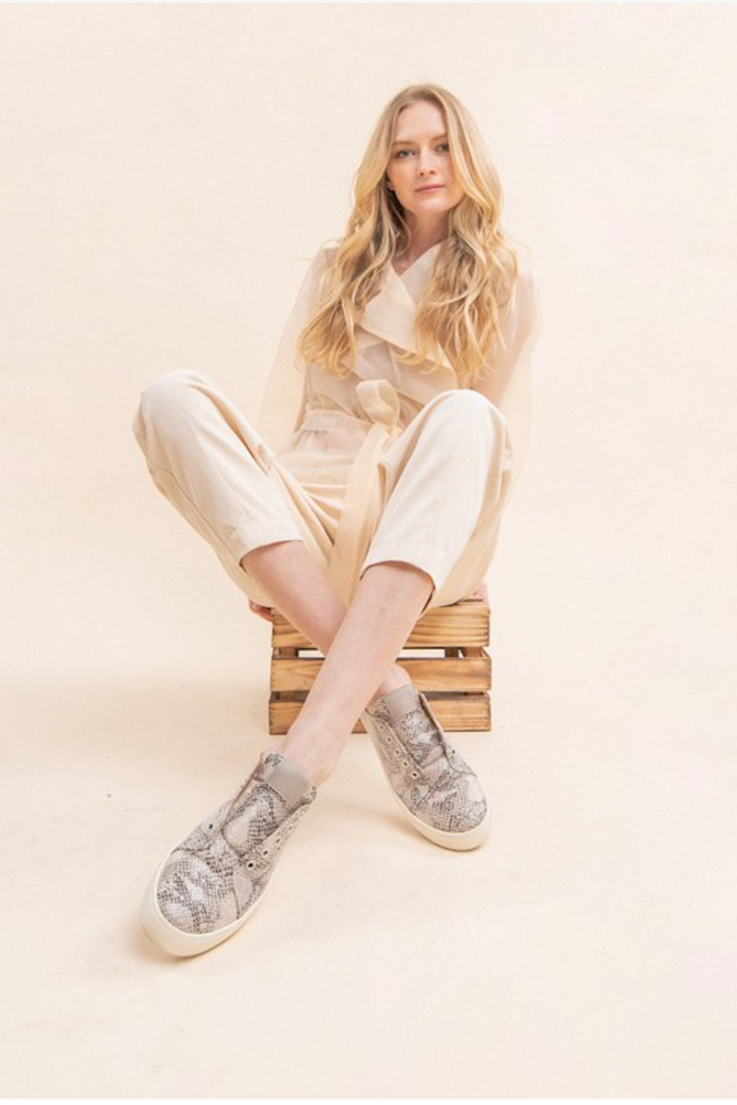 miracle miles  Ava Sneaker Mule - Side Cropped Image