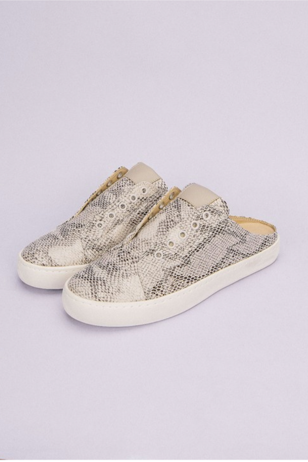 miracle miles  Ava Sneaker Mule - Front Cropped Image