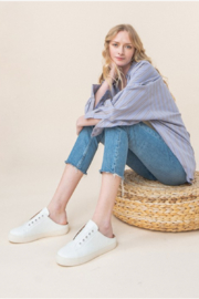 miracle miles  Ava Sneaker Mule - Side cropped
