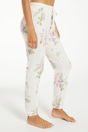 z supply Ava Spring Floral Jogger - Front full body