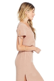 Saltwater Luxe Ava Tie Sleeve Top - Product Mini Image