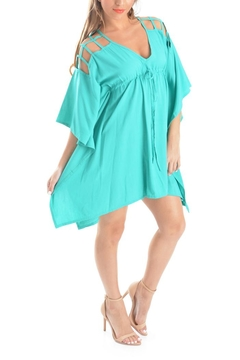 Ava Sky Olgie Caged Tunic - Product List Image