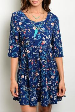 Available Floral Crisscross Dress - Product List Image