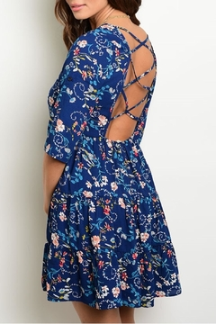 Available Blue Floral Dress - Alternate List Image