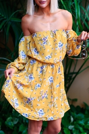 Available Floral Dress Offshoulder - Product Mini Image