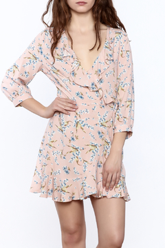 Available Floral Wrap Dress - Product List Image