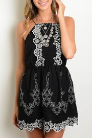 Available Embroidered Strap Dress - Product Mini Image