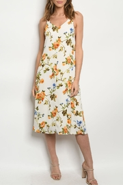 Available Ivory Floral Dress - Product Mini Image