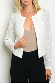 Available White Lace Jacket - Product Mini Image