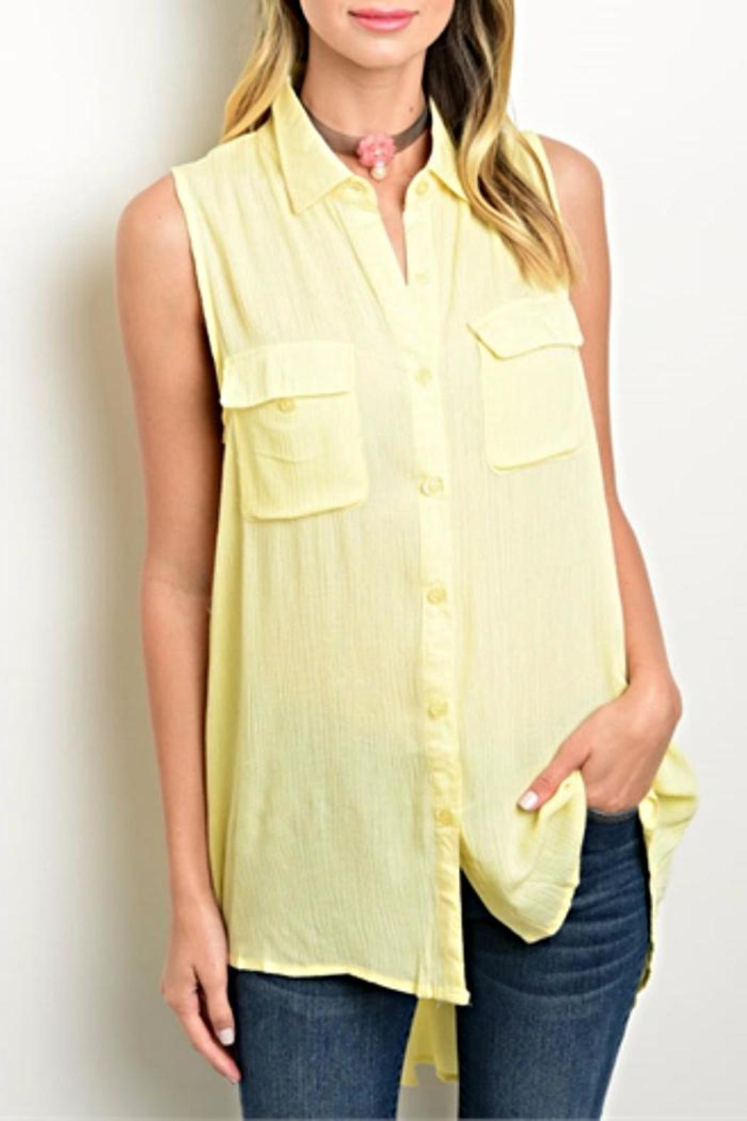 6e7d5a0af58 Available Yellow Tunic Top from Kansas by twill tradE — Shoptiques