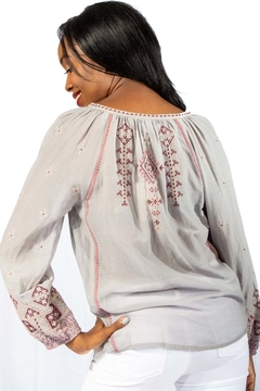 Johnny Was Avaline Marrakesh Embroidered Top - Alternate List Image