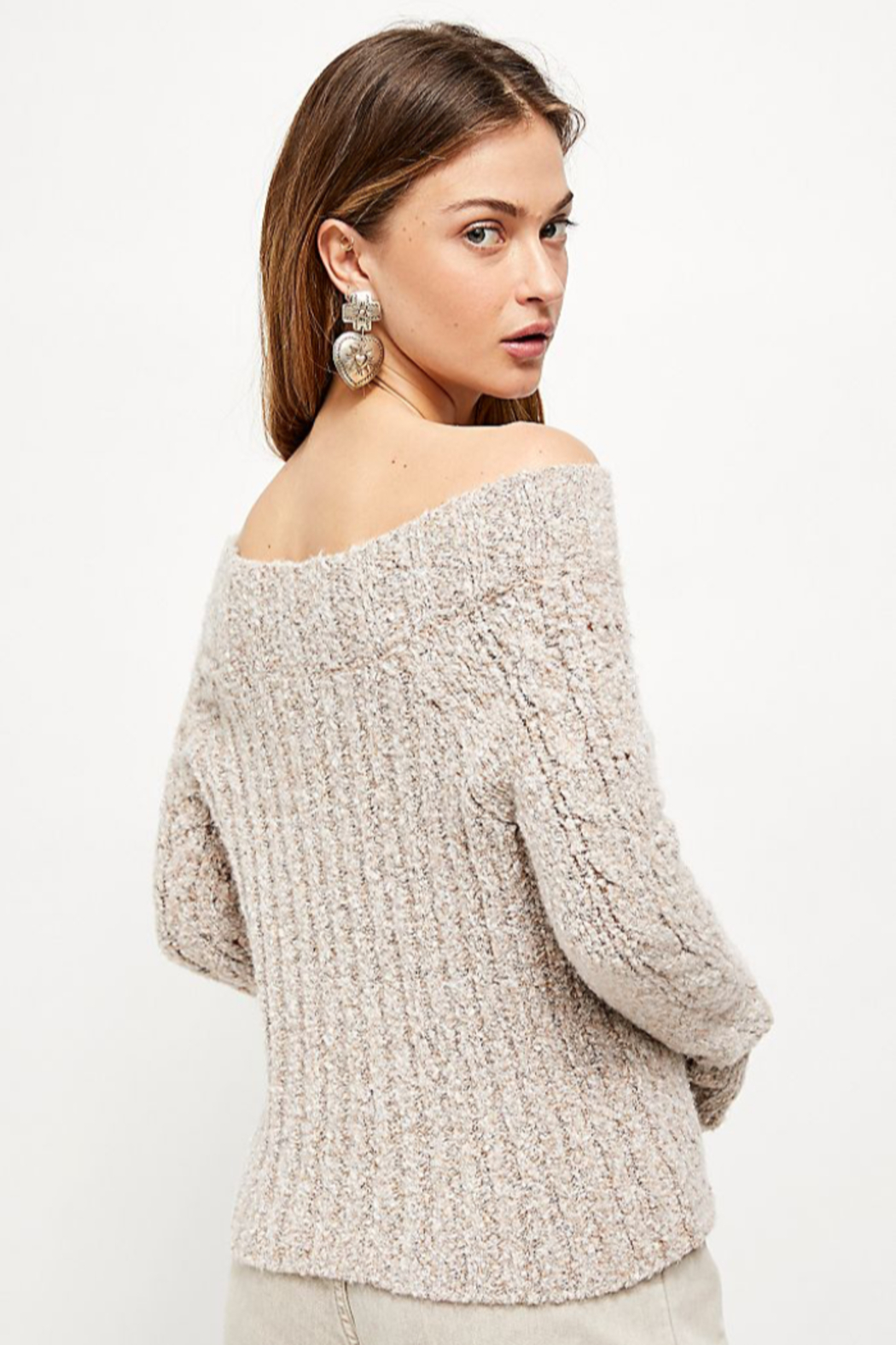 Free People  Avalon Pullover - Front Full Image