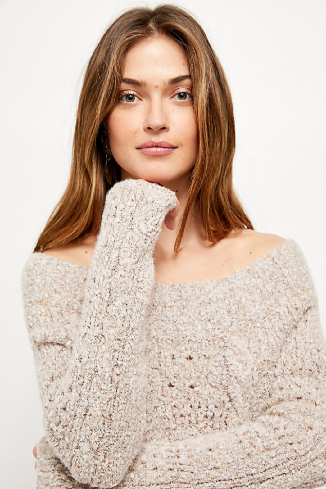 Free People  Avalon Pullover - Back Cropped Image