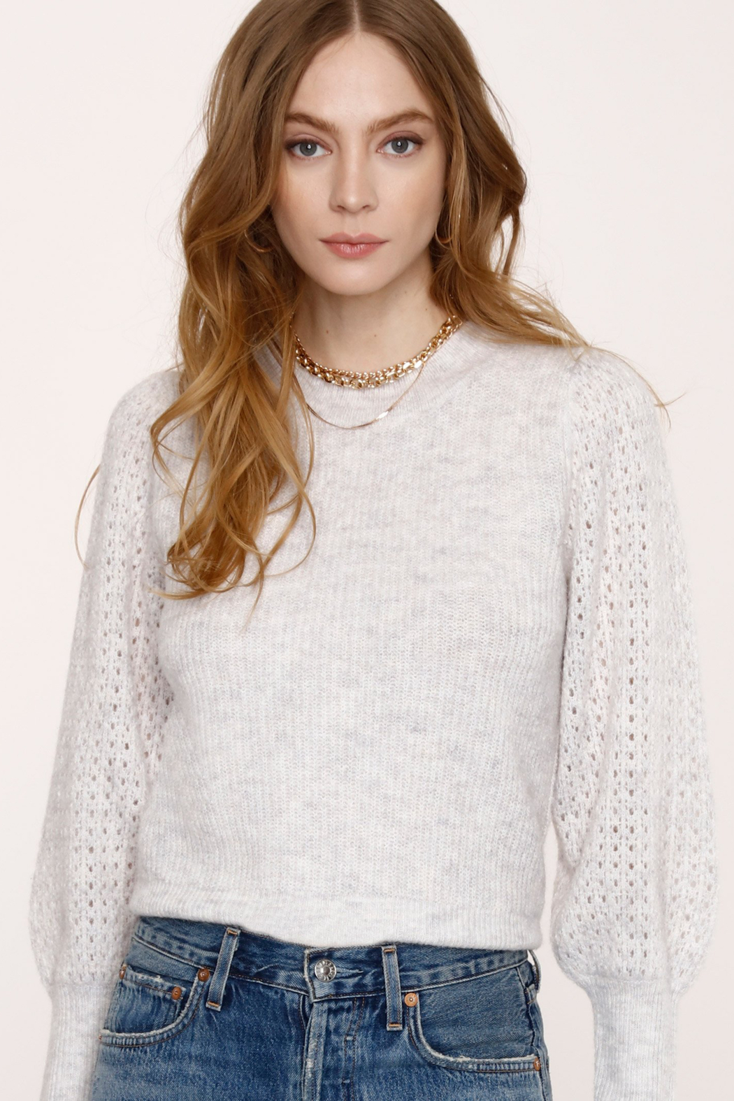 Heartloom Avalon Sweater - Front Cropped Image