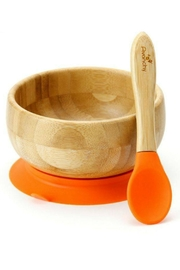 Avanchy Bamboo Stay Put Bowl - Front cropped