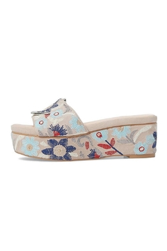 AVEC LES FILLES Embroidered Rocker Platform - Product List Image