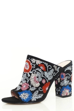 Shoptiques Product: Margaux Embroidered Block Heel