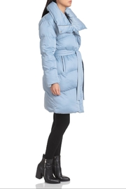 AVEC LES FILLES Water-Resistant Belted Puffer - Front full body