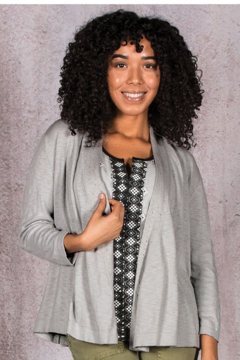 Aventura Clothing Aventura Delia Cardigan Harbor Mist - Product List Image