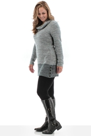Aventura Two-Tone Sweater Tunic - Front cropped