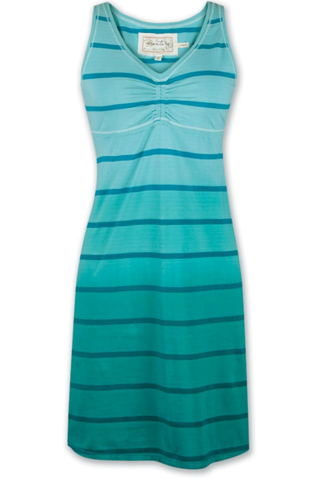 Aventura Clothing Cotton Striped Dress - Main Image