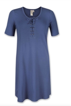 Aventura Clothing Organic Lace-Up Dress - Alternate List Image